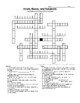 Acids, Bases, and Solutions Crossword Puzzle