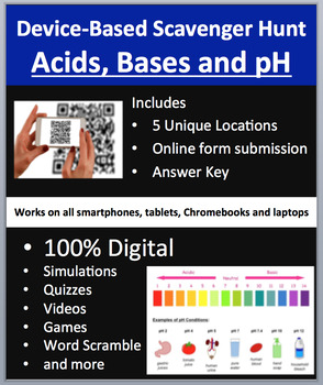 Acids, Bases and pH – Device-Based Scavenger Hunt Activity