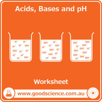 Acids, Bases and pH Worksheet by Good Science Worksheets ...