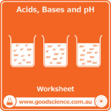 Acids, Bases and pH [Worksheet]