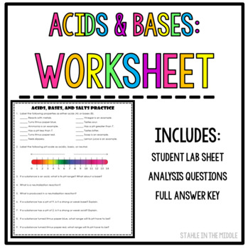 Brainpop Ph Scale Worksheet Answers Stunning Ph Scale Compounds And
