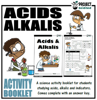 Acids and Alkalis Activity Booklet