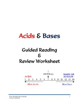 Acids and Bases Are All Around You