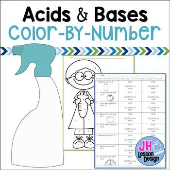 Acids and Bases Color-By-Number