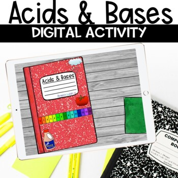 Acids and Bases Digital Nonfiction Article and Activity for Google Classroom