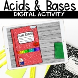 Acids and Bases Digital Notebook Activity for Google Classroom