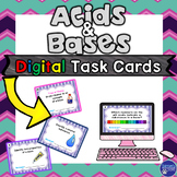 Acids and Bases Task Cards Review Activity for Google Classroom