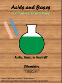 Acids and Bases: Indicator Litmus Paper Lab