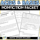 Acids, Bases, and the pH Scale Nonfiction Articles and Activity