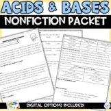 Acids and Bases Nonfiction Articles and Activity