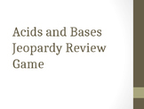 Acids and Bases Jeopardy Review Game