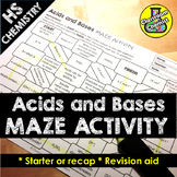 Acids and Bases Activity - MAZE