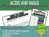 Acids and Bases Performance Assessment