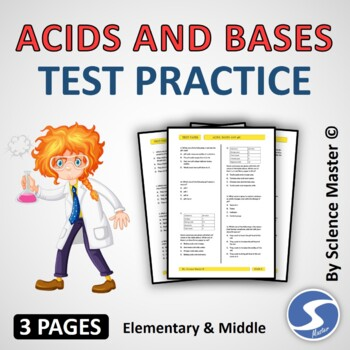 Acids and Bases Test Prep