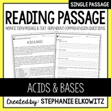 Acids and Bases Reading Passage
