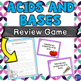 Acids and Bases Task Card Review Game
