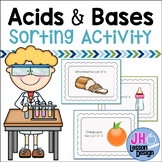 Acids and Bases Sorting Activity
