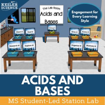 Acids and Bases Student-Led Station Lab