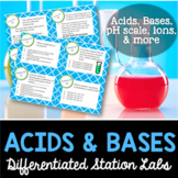 Acids and Bases Student-Led Station Lab