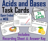 Acids and Bases Task Cards Activity