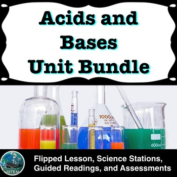 Acids and Bases Unit Bundle