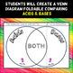 Acids and Bases - Venn Diagram Foldable - Great for INBs!