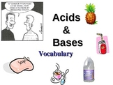 Acids and Bases Vocabulary Powerpoint