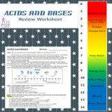 Acids and Bases Worksheet