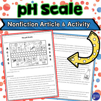 Acids and Bases pH Scale Nonfiction Article and Activity