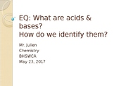 Acids and Bases ppt