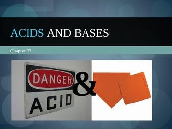Acids and Bases presenation