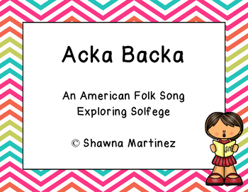Acka Backa: A traditional game song exploring Do, Re, Mi and Sol