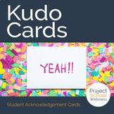 Acknowledgement Cards, Positive Behavior Cards, Praise Cards