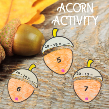 Acorn Adding Activity