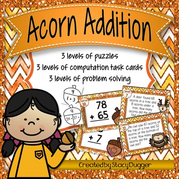 Acorn Addition Pack (Puzzles, Computation, and Problem Solving)