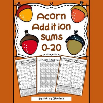 Acorn Addition (sums 0-20)