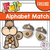 Acorn Alphabet Match Freebie