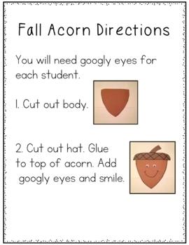 Acorn Art Project