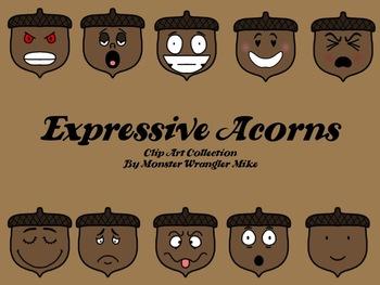 Acorn Clip Art Collection
