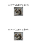 Acorn Counting Book
