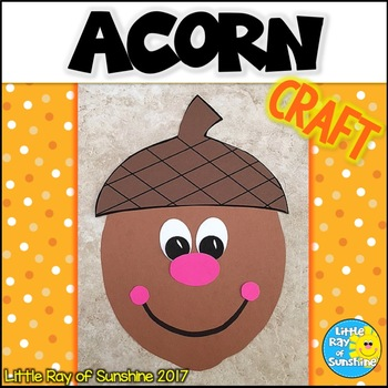 Acorn Fall Craft