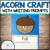 Acorn Craft With Writing Prompts/Pages