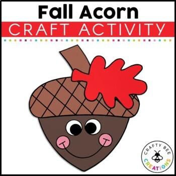 Acorn Cut and Paste