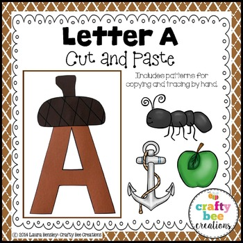 Letter A Craft {Acorn}