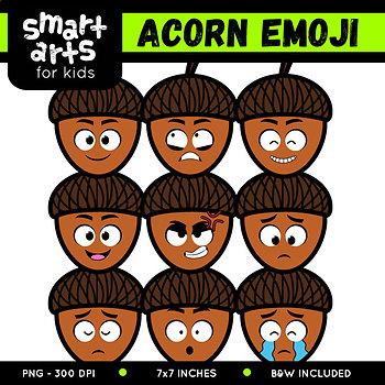 Acorn Emoji Clip Art