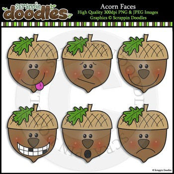 Acorn Faces