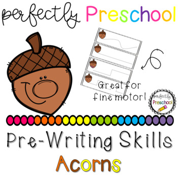 Acorn Faces Prewriting Skills