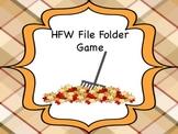 Acorn File Folder Game