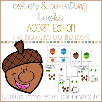 Acorn Interactive Color and Counting Books