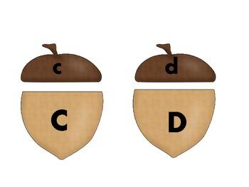 Acorn Letter Match